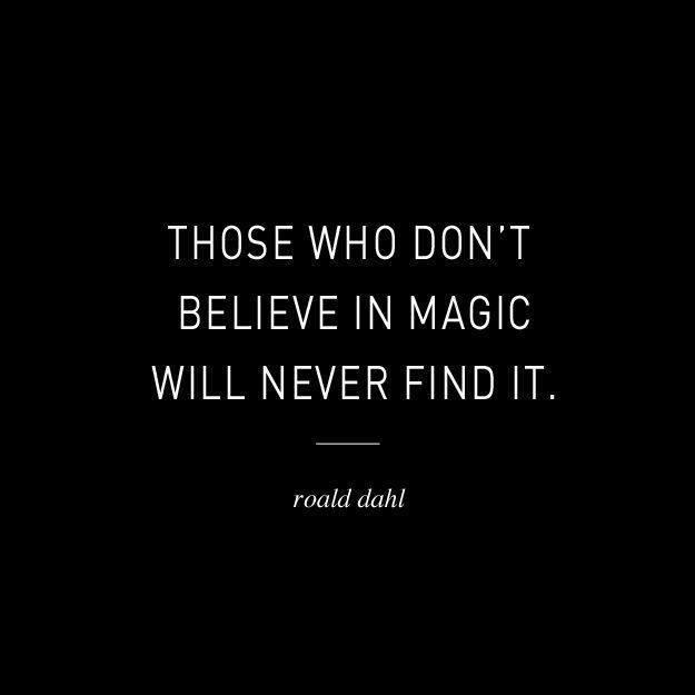 magic trick quote