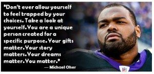 Michael Oher Homeless