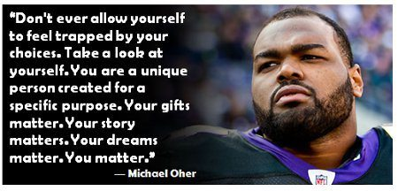 Michael Oher Homeless