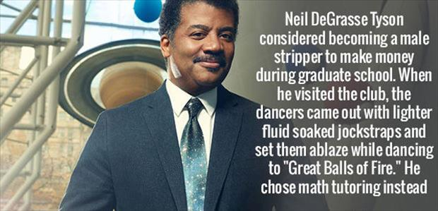 Neil Degrasse stripper