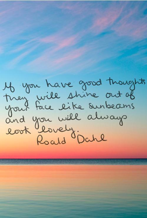Roald Dahl Picture Quote