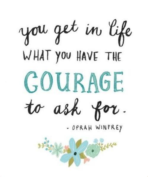 Be full of courage