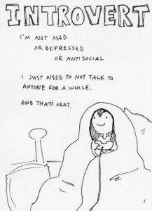 introvert personality