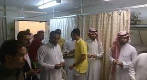 Line to see Ibrahim, Saudi Arabia