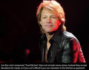 Jon Bon Jovi Helps others