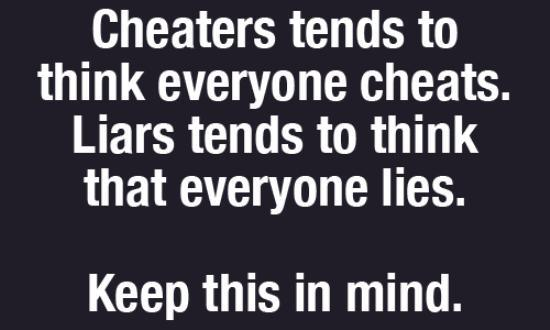 Cheater fact