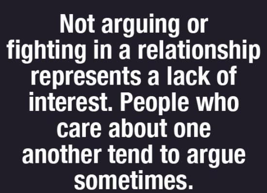 People argue