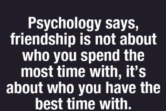 Pyschology fact