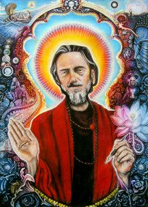 alan watts drawing