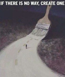 create a new path in life