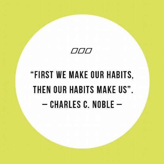 Habits Quote