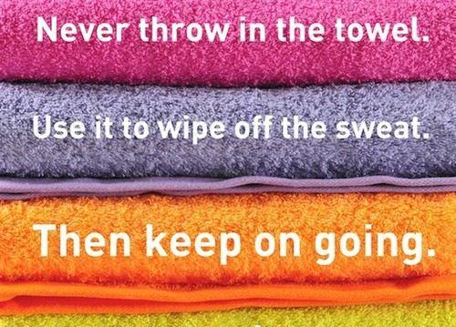 Motivation towel
