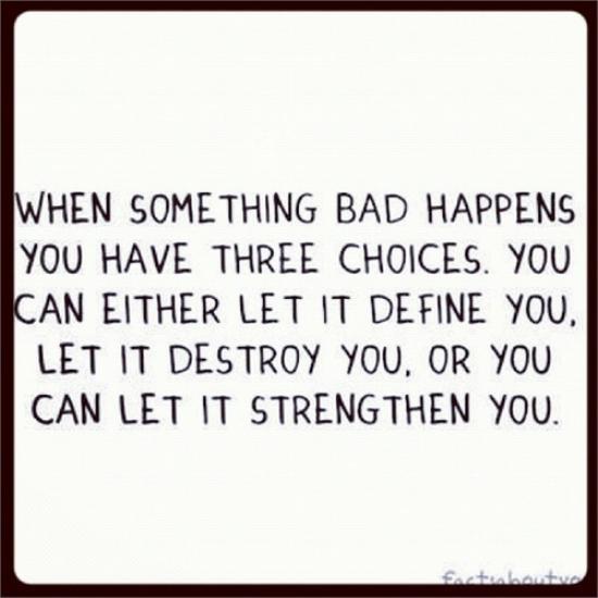 Bad Stuff Happens