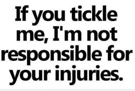 responsible for injuries