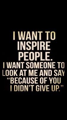 inspire me today
