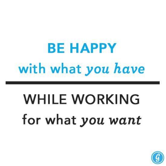 Be happy please