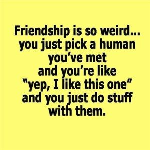 weird friends
