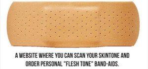 skin tone bandaid
