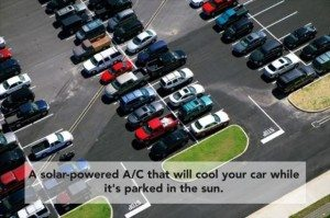 solar air conditioner for cars