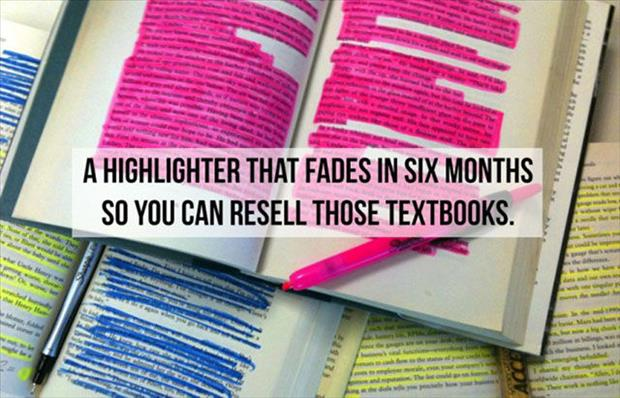 highlighter that fades
