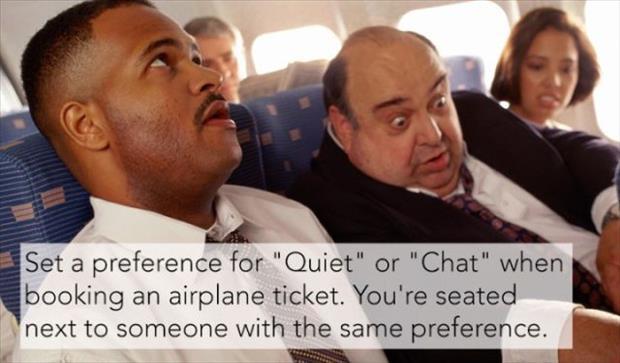 quiet flight