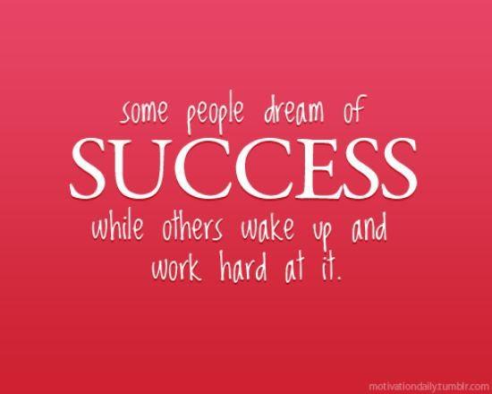 success dreams