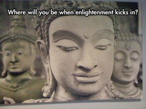 enlightenment comes