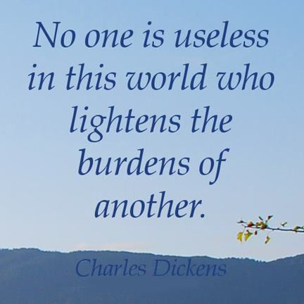 lighten the burden
