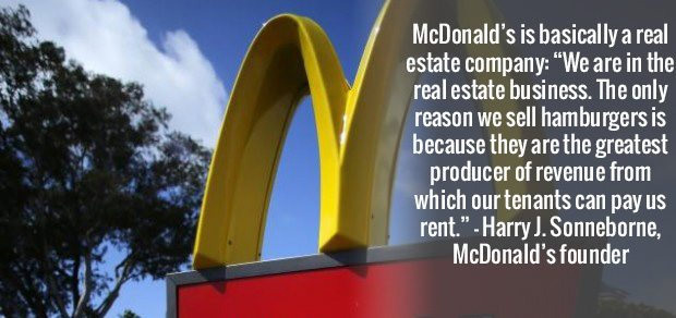 mcdonalds real estate