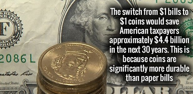coins are cheap
