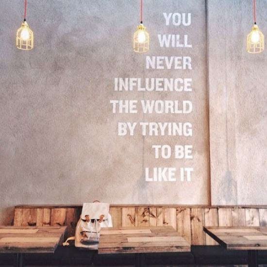 Influence someone today