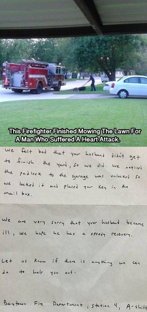 fire department love