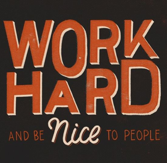 work hard today