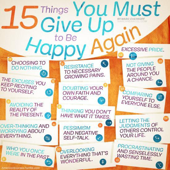 15 happy things