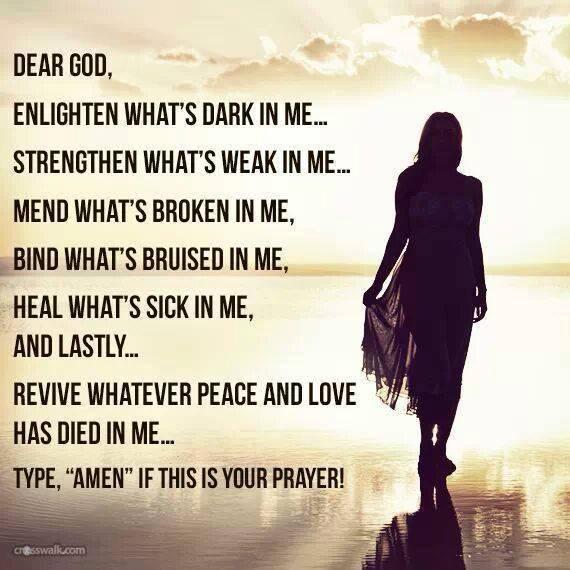 a healthy prayer