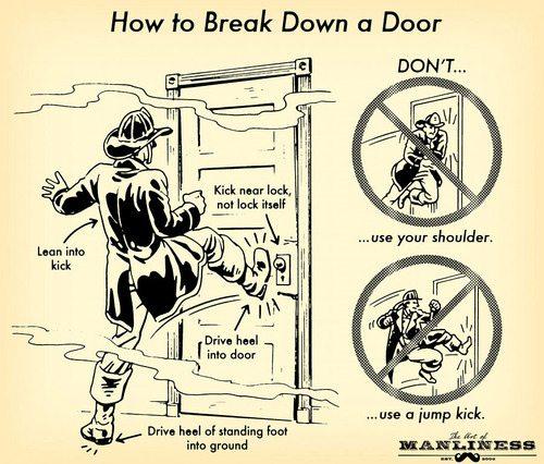 break down a door
