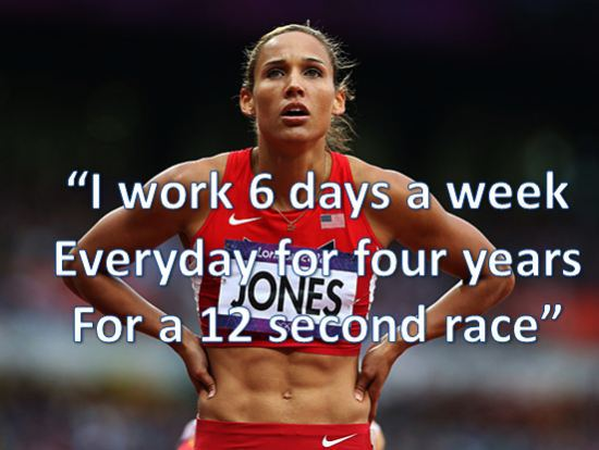 hard work every day