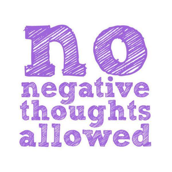 zero bad thoughts