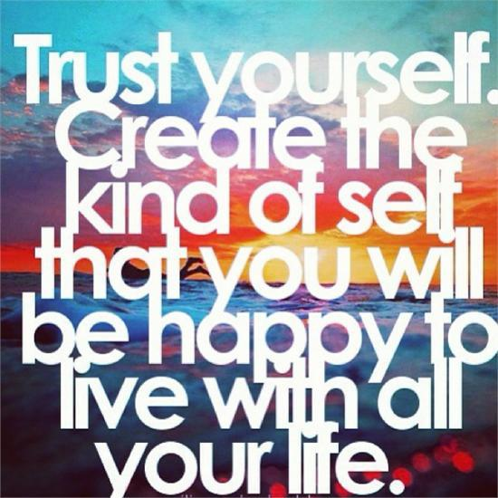 today you create