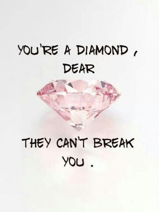 you can't break me