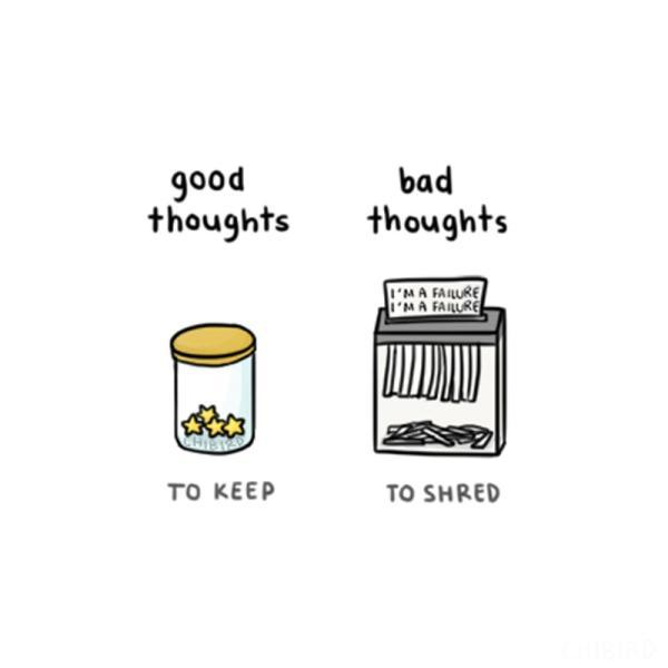 Good vs bad thoughts