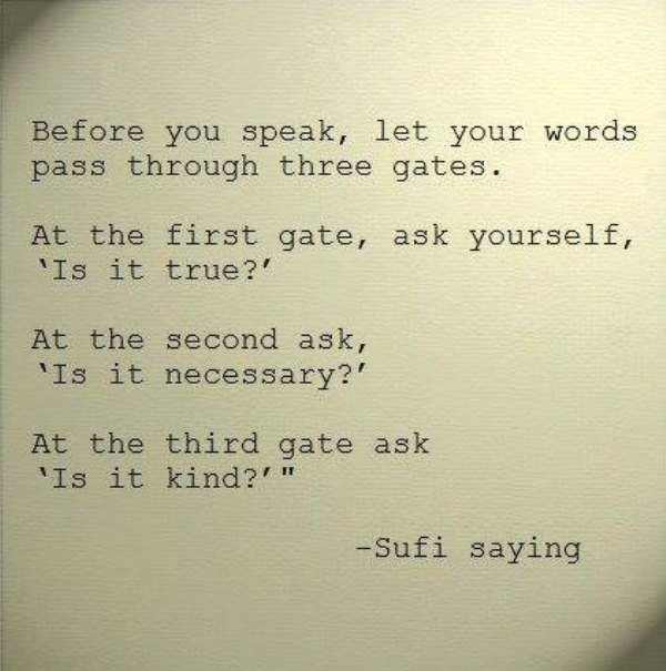 Sufi saying
