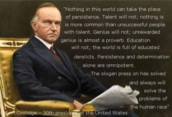 President quote