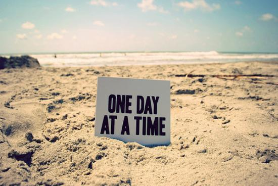One day today