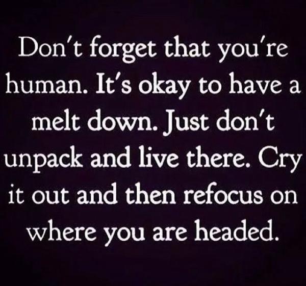 its okay to be human