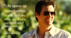 jim carrey quote on life