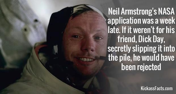 neil armstrong fact