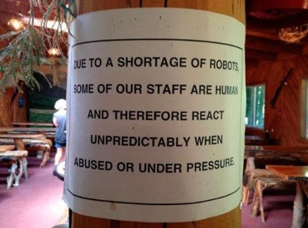 robot staff