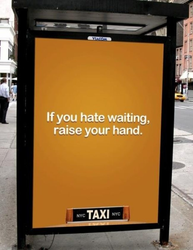 NYC Taxis Ad