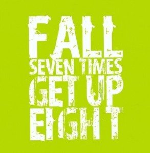 fall down seven get up 8